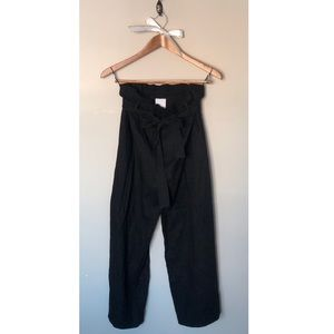 Urban Outfitters Paper Bag Cropped Pants